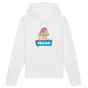 Pop Up Vegan | Unisex Hoody mit Fronttasche