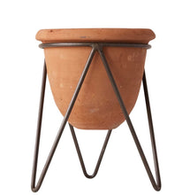 Load image into Gallery viewer, Terra Cotta Planter With Stand