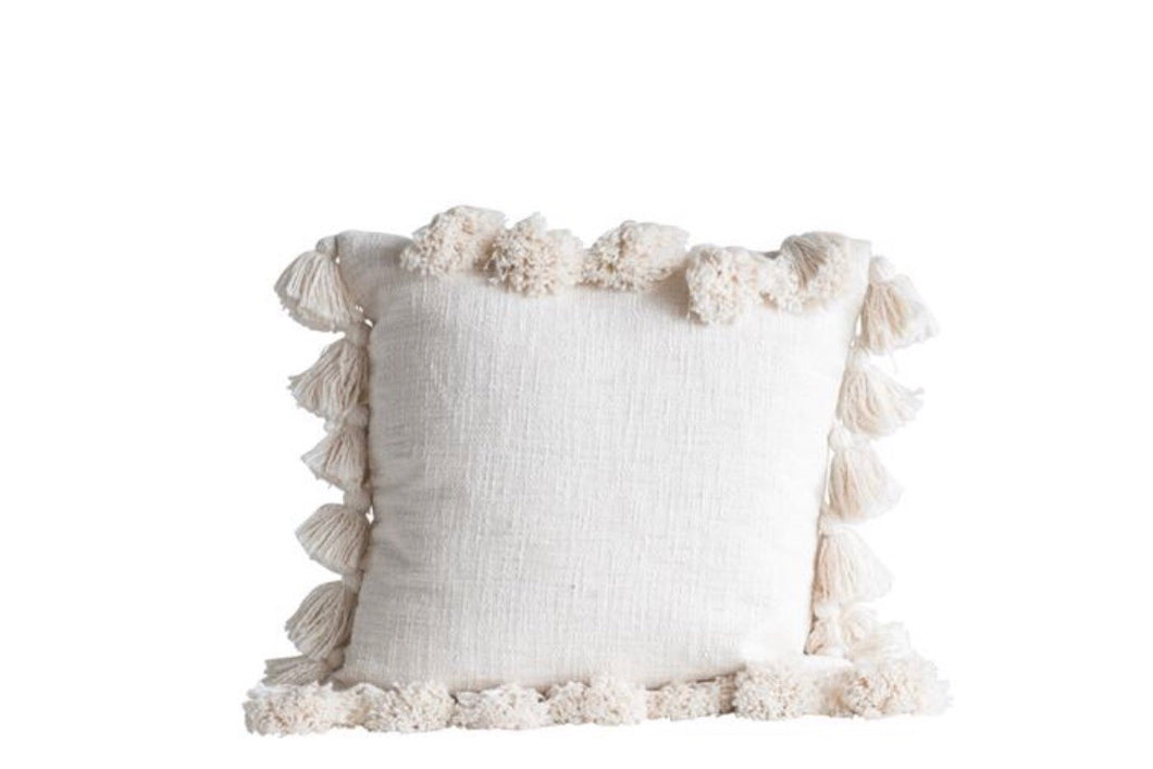 Square Cotton Pillow