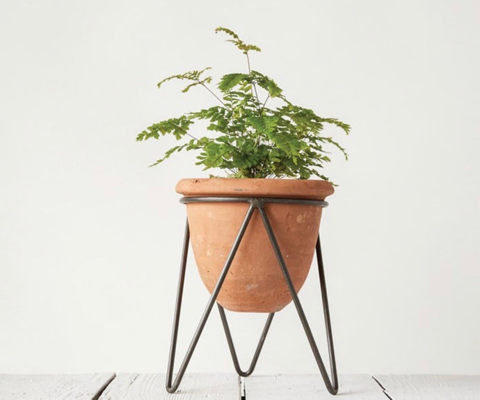 Terra Cotta Planter With Stand