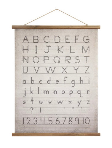 ABC Canvas Scroll