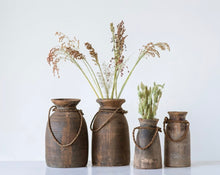 Load image into Gallery viewer, Wooden Vase