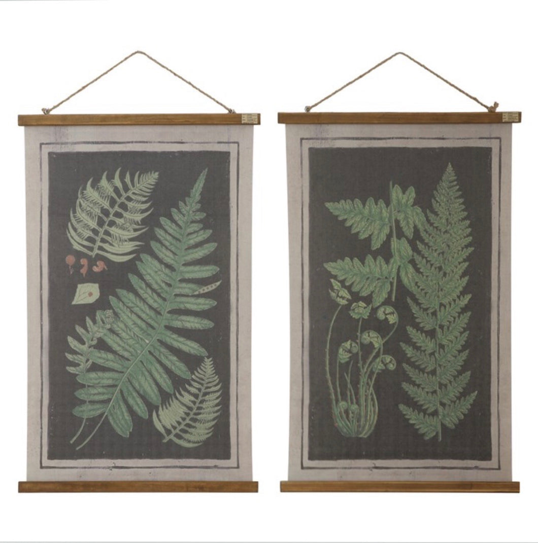 Fern Fronds Wall Decor