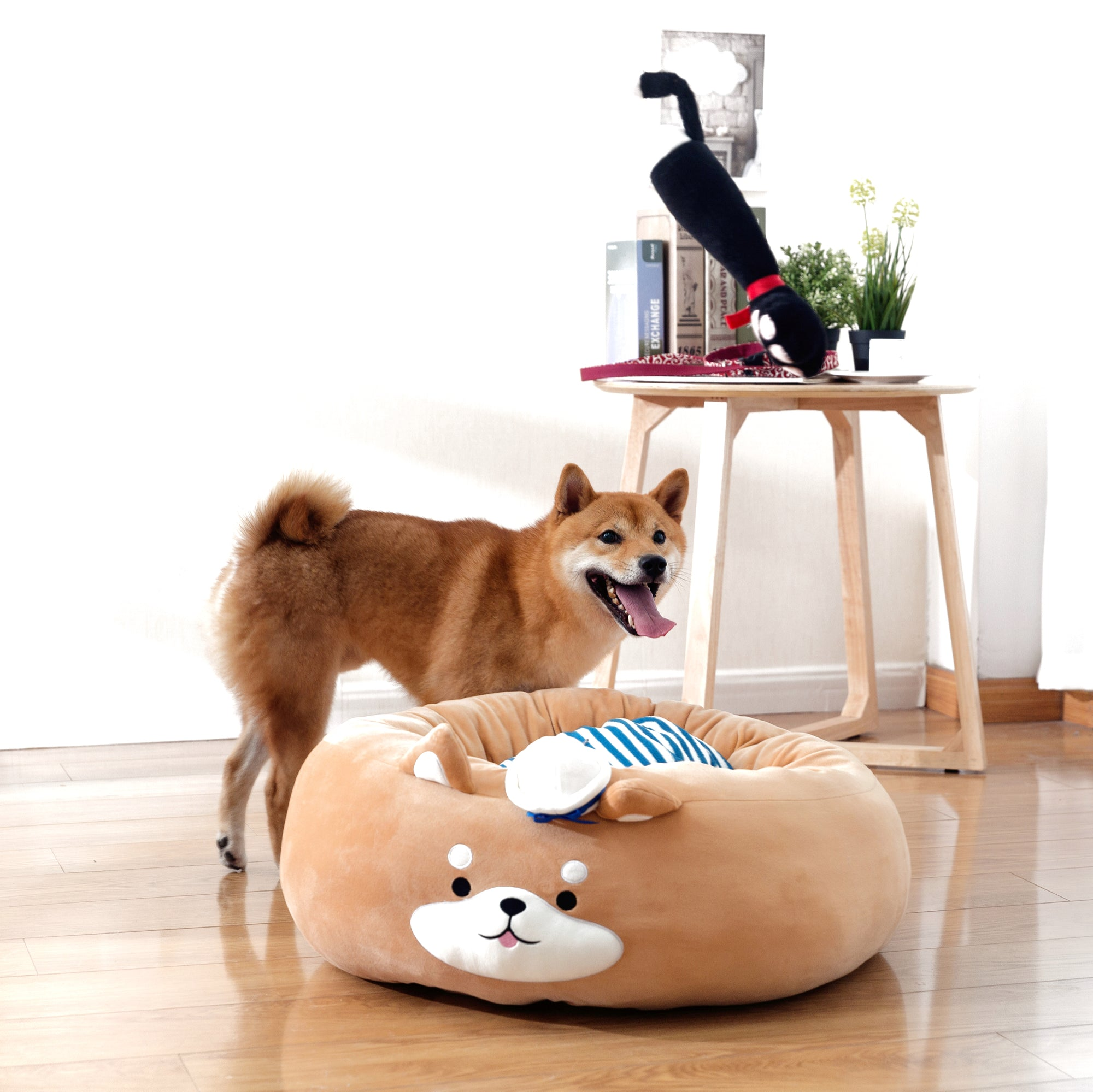 Sailor Pup Donut Bed