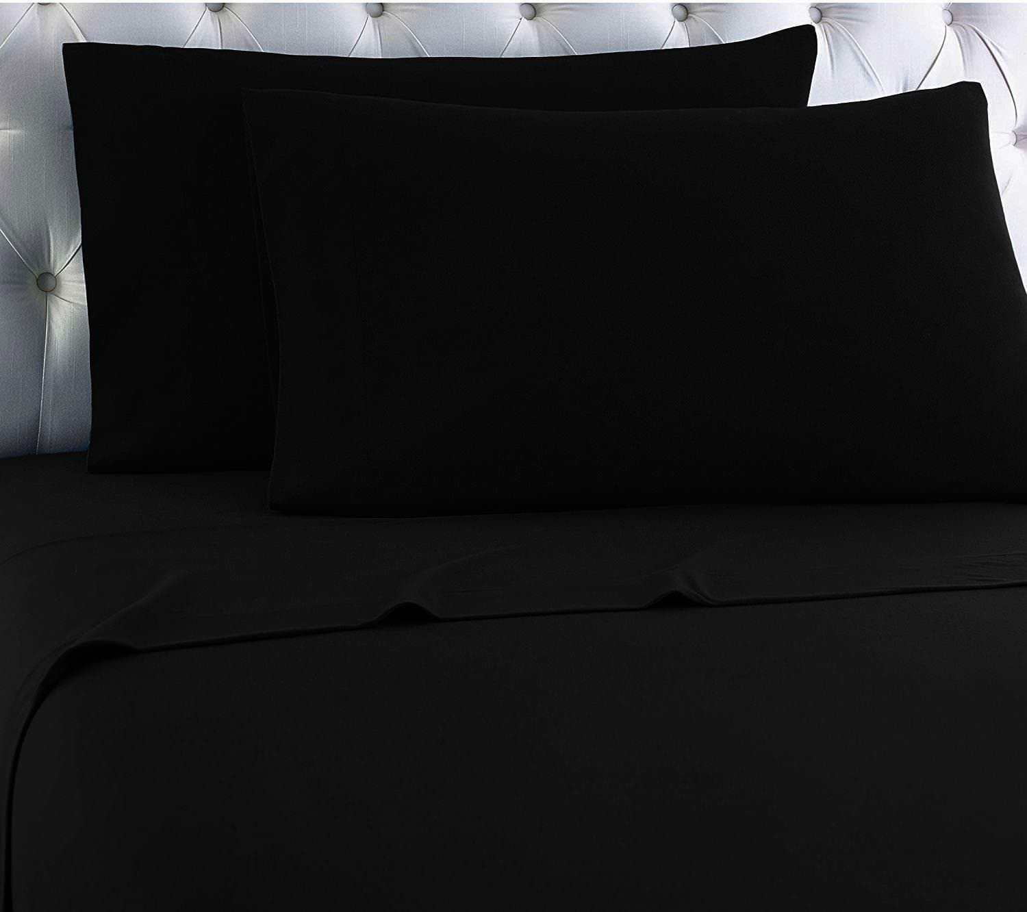 Flannel 100% Cotton 4-Piece Sheet Set Winter Bed Sheets