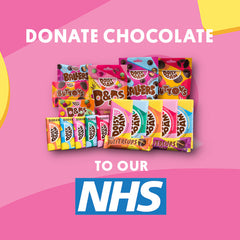 donate vegan chocolate to the NHS COVID-19 support