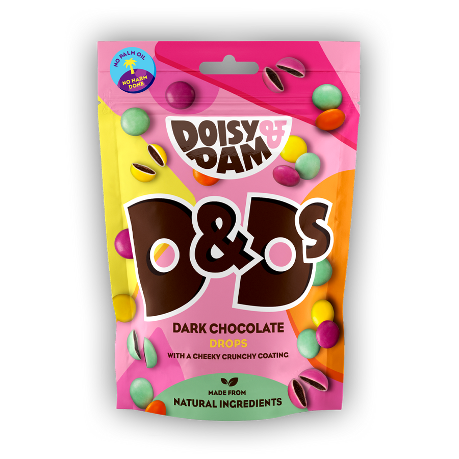 Doisy & Dam Dark Chocolate D&Ds Share Bags 7 x 80g