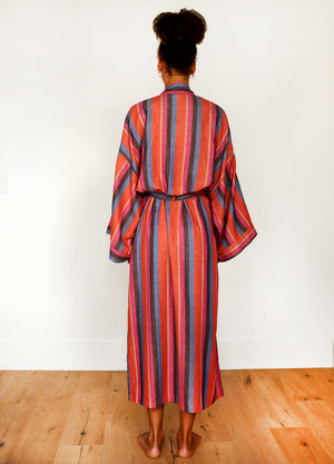STRIPE ROBE IN DAZE