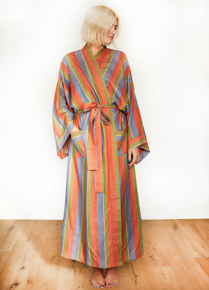 STRIPE ROBE IN SOAK