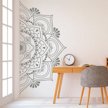 Load image into Gallery viewer, Half mandala wall sticker - make-stickers