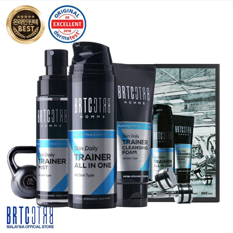 BRTC Homme Skin Daily Trainer All In One Set