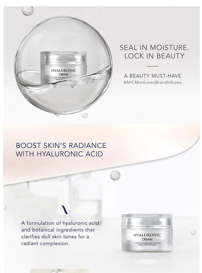 AHC HYALURONIC CREAM