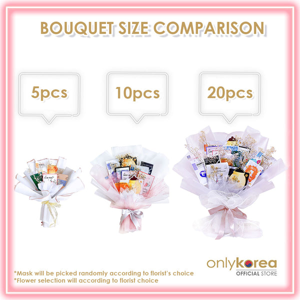 Mask Bouquet Small (5pcs)