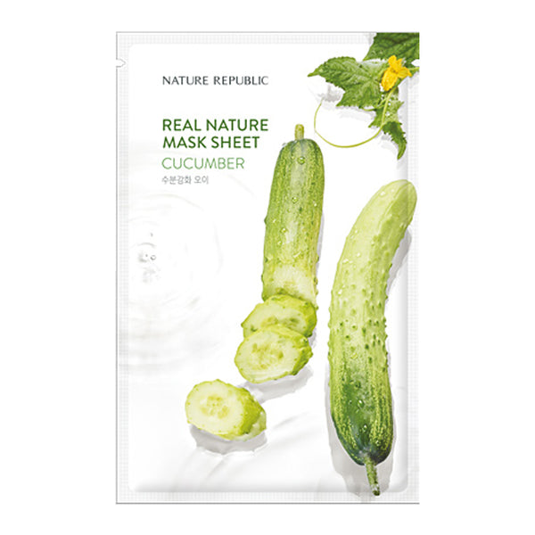 [NATURE REPUBLIC] REAL NATURE CUCUMBER MASK