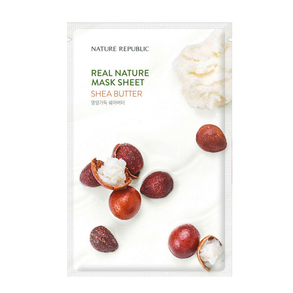 [NATURE REPUBLIC] REAL NATURE SHEA BUTTER MASK