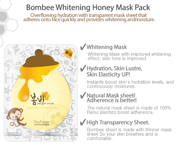 PAPA RECIPE BOMBEE HONEY WHITENING MASK PACK