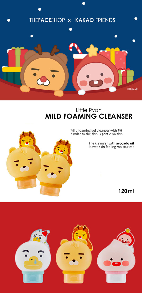 [THE FACE SHOP X KAKAO FRIENDS] LITTLE RYAN MILD FOAMING CLEANSER
