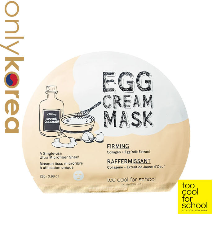 Too Cool For School Egg Cream Mask Firming (1pc)