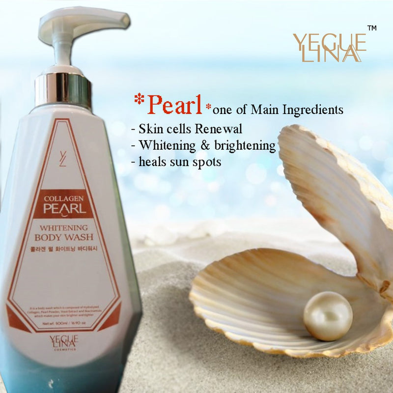 Yeguelina Collagen Pearl Whitening Body Wash