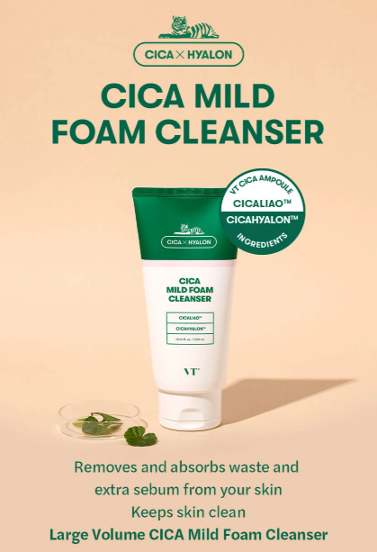 VT Cica Mild Foam Cleanser 300ml