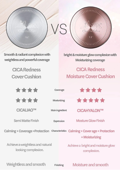 VT Cica Cushion Redness Cover Cushion (2 Types)