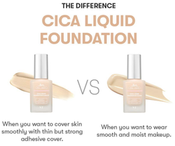 VT Cica Liquid Foundation Glow (2 Types)