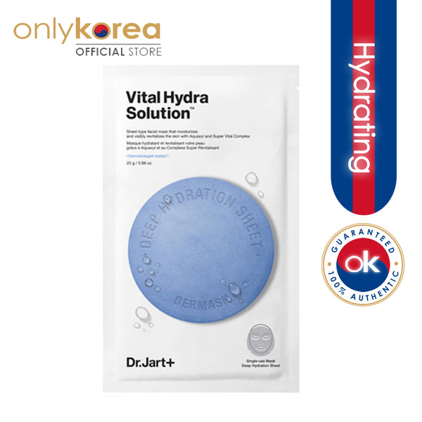 DR JART+ VITAL HYDRA SOLUTION MASK