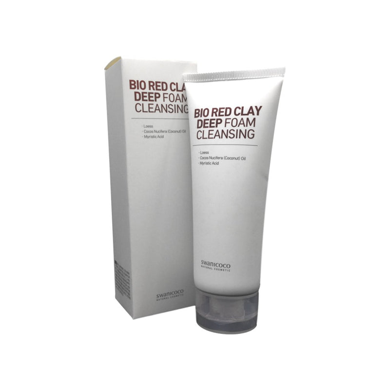SWANICOCO BIO REDCLAY DEEP FOAM CLEANSING