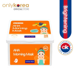 Shinetree AHA Morning Mask (30 sheets)