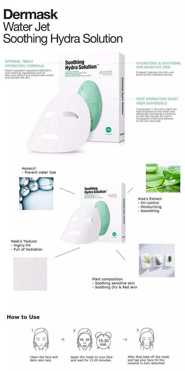 DR JART+ SOOTHING HYDRA SOLUTION MASK