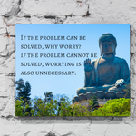 If The Problem Can Be Solved, Why Worry?