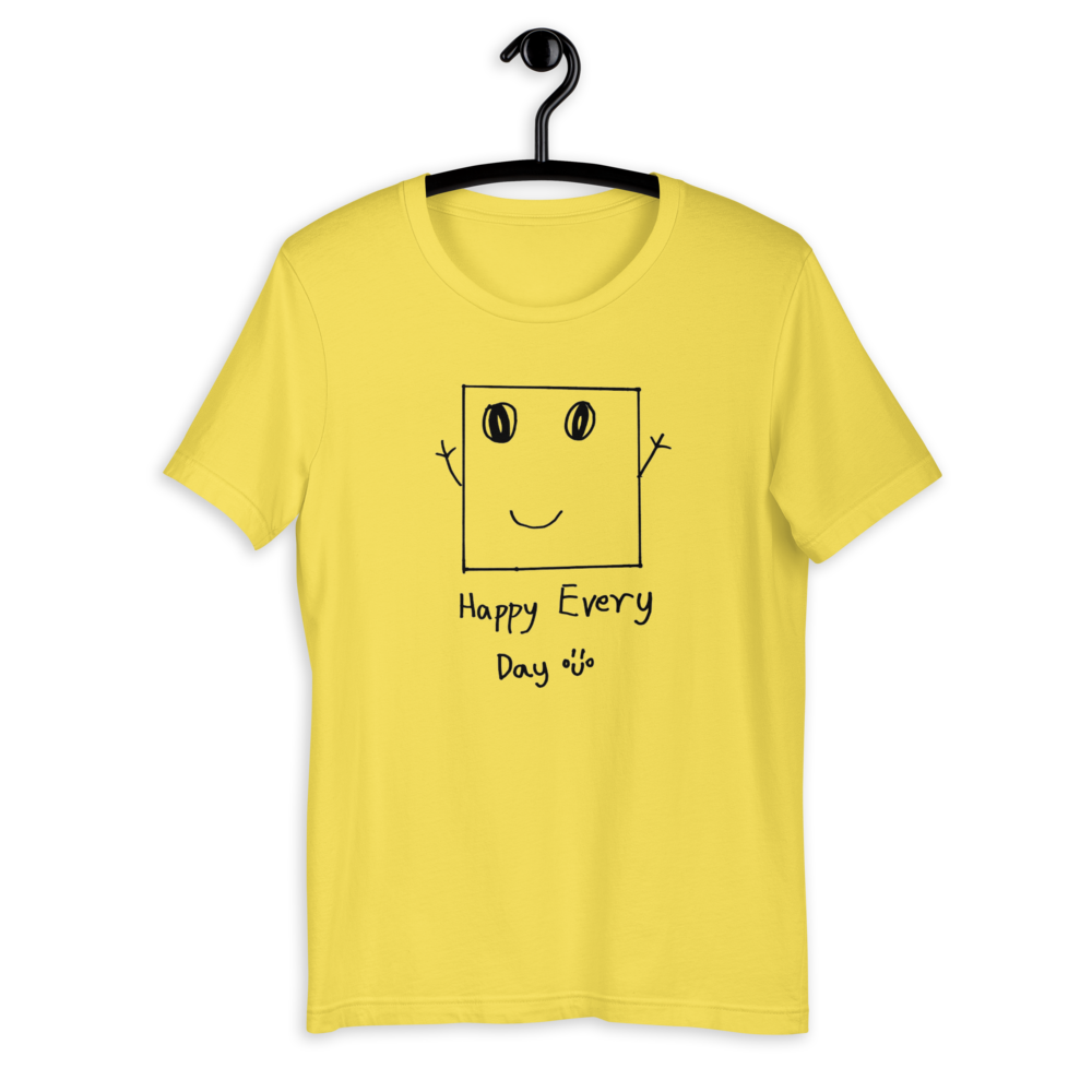 Unisex T-Shirt - Eugene, 7 | Happy Square