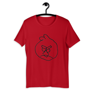 Unisex T-Shirt - Han, 4 | Angry Bird Red