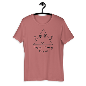 Unisex T-Shirt - Eugene, 7 | Happy Triangle