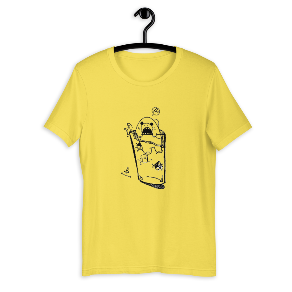 Unisex T-Shirt - Noon, 11 | Glass of Bear