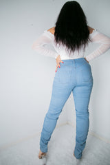 Lulu Stacked Jeans