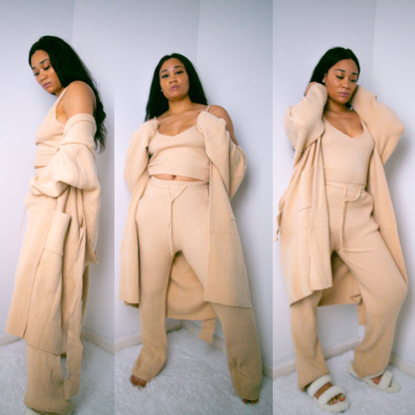 Escape Sweater Pant Set | 3 Piece