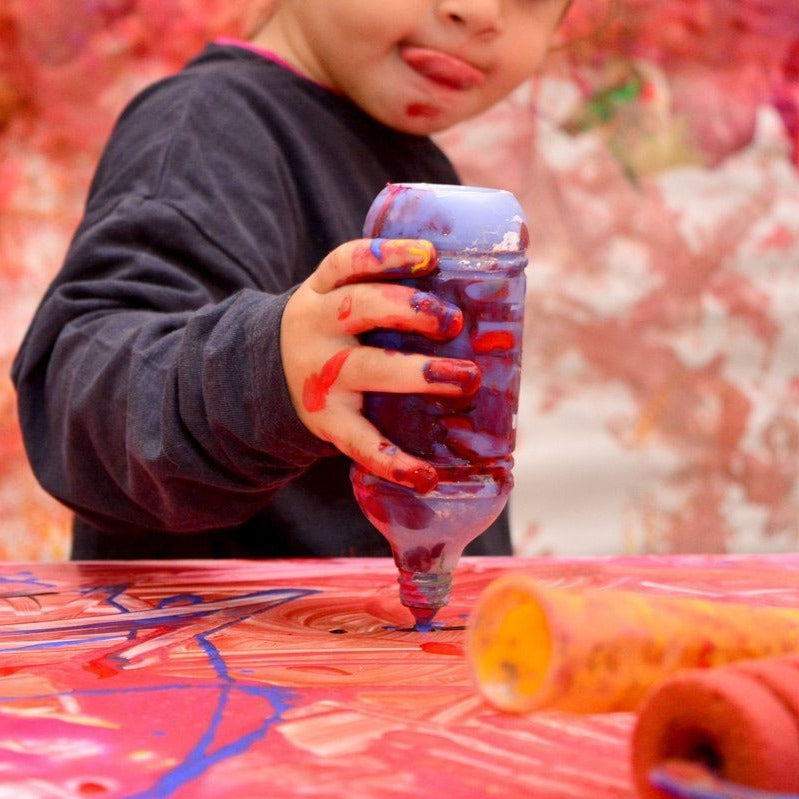 Messy play with Hehe Art!