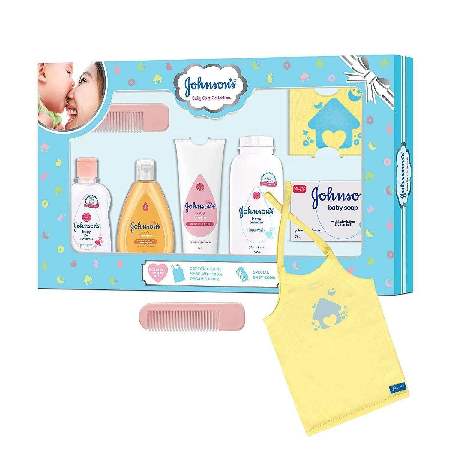 Johnson S Baby Care Collection Baby Gift Set Small Size Pabung