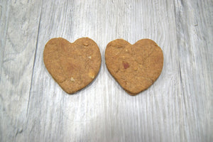 Peanut Butter Bacon Hearts