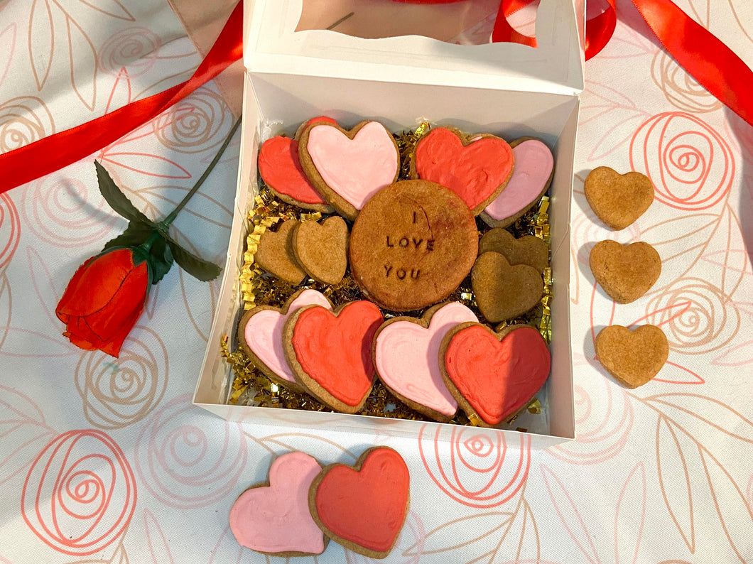 Frosted Valentine's Day Box