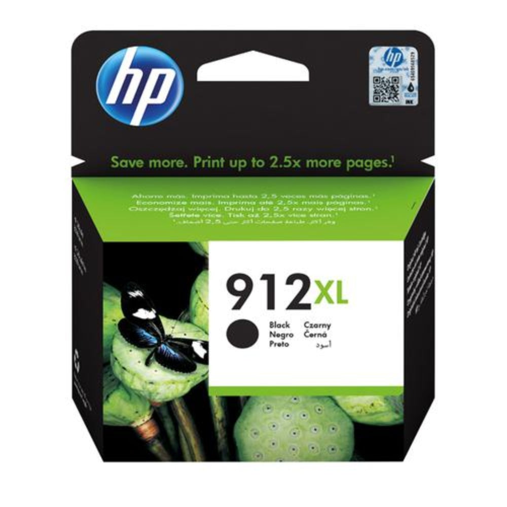 HP Ink Cartridge, HP912XL, Black