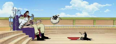 Shanks Barbe blanche - One piece