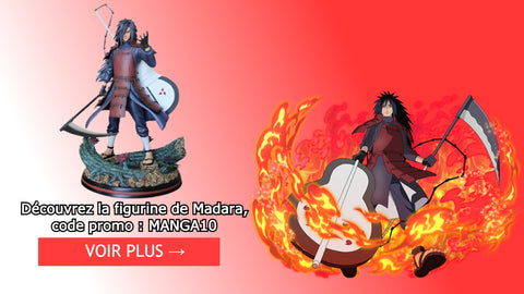 Figurine Madara uchiwa | Dimension Manga