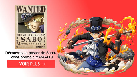 Poster wanted Sabo - One piece