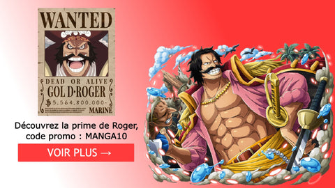 Posters Wanted Gol D. Roger   Dimension Manga