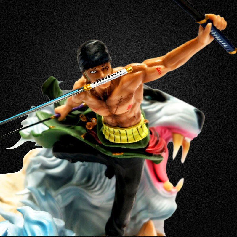 Figurine Zoro tigre - One piece - Dimension Manga