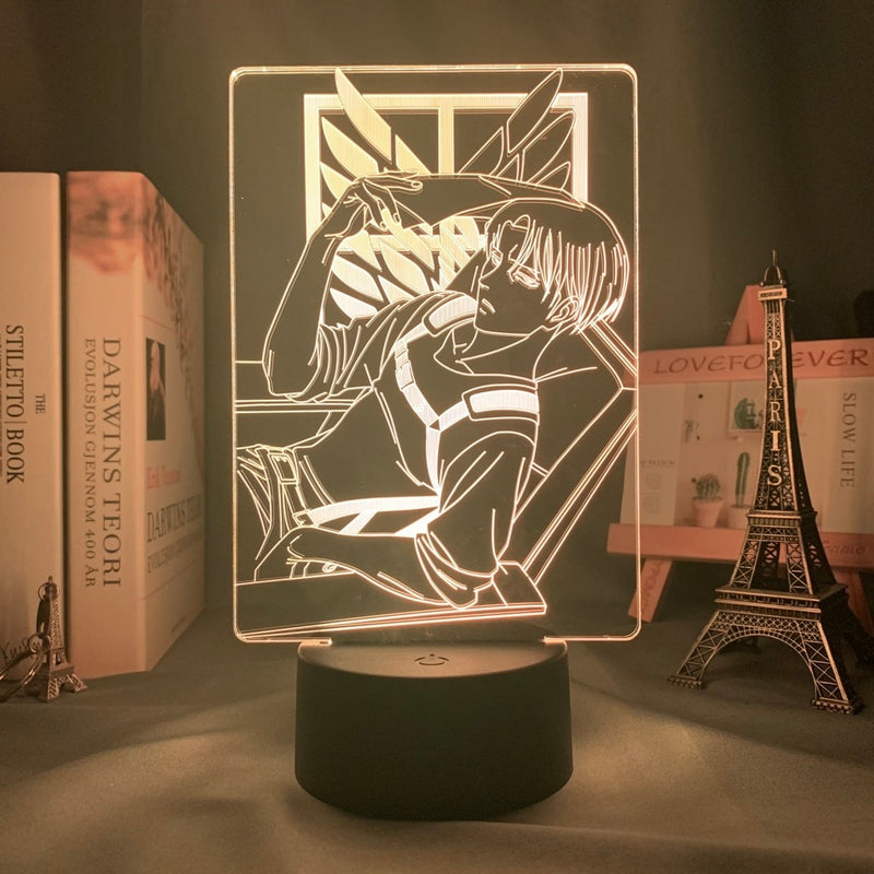 Lampe Livai bataillon d'exploration | Dimension Manga