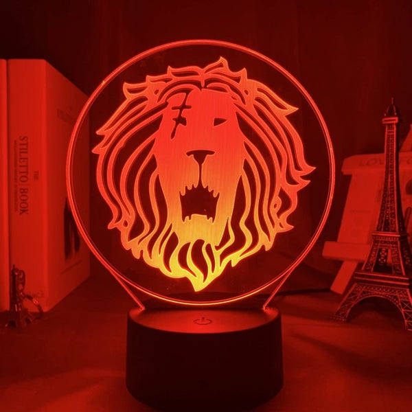 Lampe Lion d'Escanor - Seven Deadly Sins - Dimension Manga