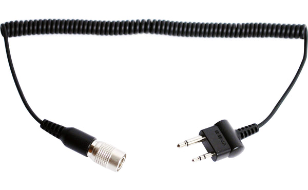 2-way Radio Cable for Midland or Icom Straight Twin-pin Connector